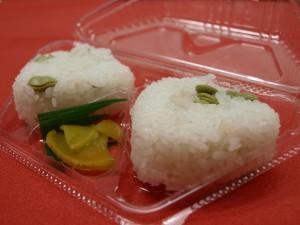 枝豆おにぎり(定価:300円)